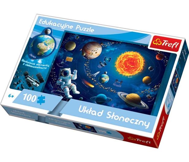 Trefl Puzzle edukacyjne - Układ słoneczny - 286612 - zdjęcie