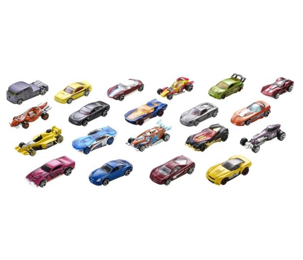 Hot Wheels Zestaw samochodzików 20 pack - 291045 - zdjęcie 3