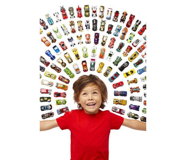 Hot Wheels Zestaw samochodzików 20 pack - 291045 - zdjęcie 4