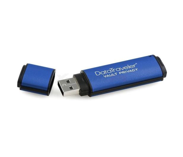 Kingston 16GB DataTraveler VP30 AES Encrypted USB 3.0 - 162179 - zdjęcie 2
