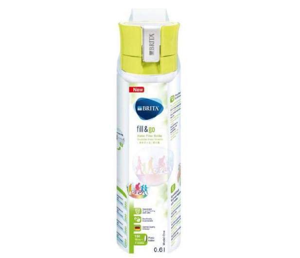 Brita Butelka filtrująca FILL&GO VITAL 0,6L limonkowa - 300812 - zdjęcie 3