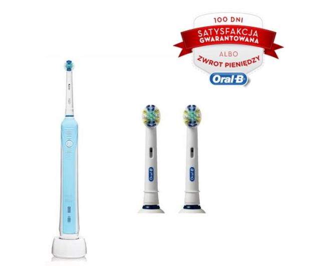 Oral B Pro 500 Eb25 2 Szczoteczki Elektryczne Sklep