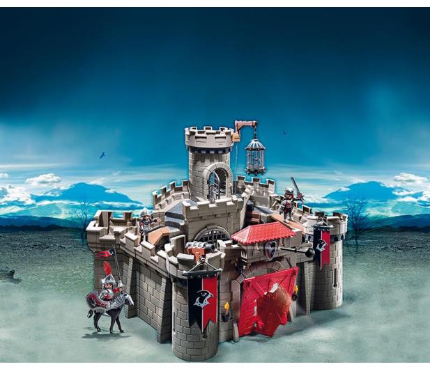 PLAYMOBIL Zamek rycerski herbu Sokoła - 301139 - zdjęcie 2