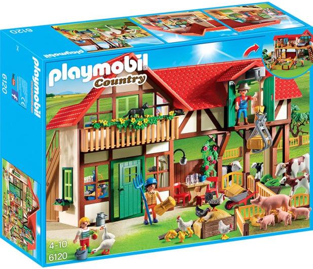 PLAYMOBIL Duże gospodarstwo rolne - 301194 - zdjęcie 2