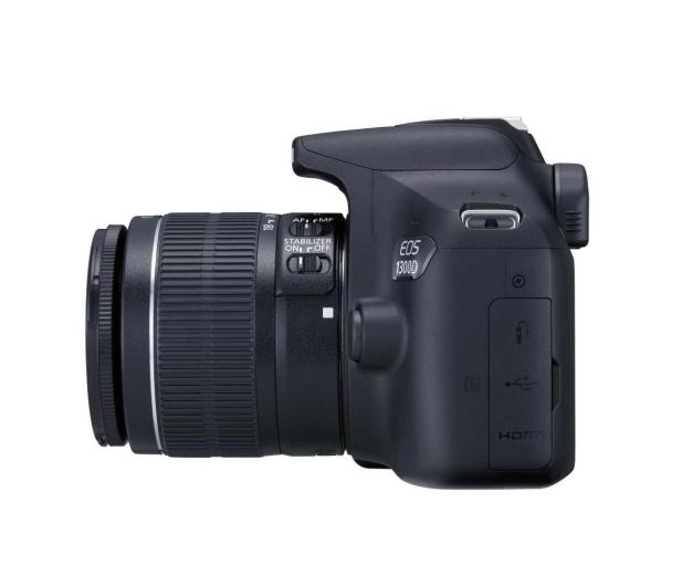 Canon EOS 1300D czarny + 18-55 IS II - 367657 - zdjęcie 4