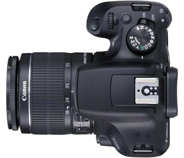 Canon EOS 1300D czarny + 18-55 IS II - 367657 - zdjęcie 5