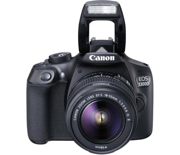 Canon EOS 1300D czarny + 18-55 IS II - 367657 - zdjęcie 3