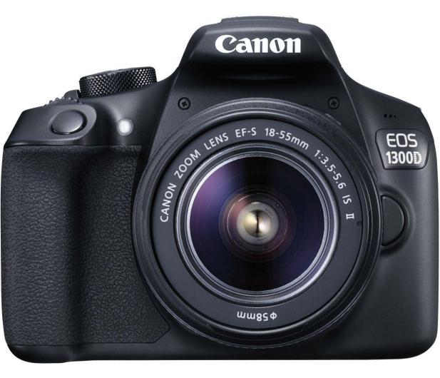 Canon EOS 1300D czarny + 18-55 IS II - 367657 - zdjęcie 2