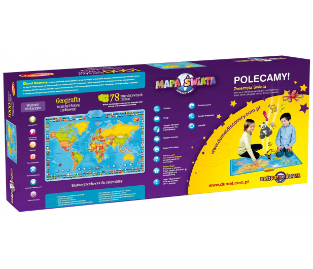 Dumel Discovery Interaktywna Mapa Świata 60853 - 305724 - zdjęcie 3