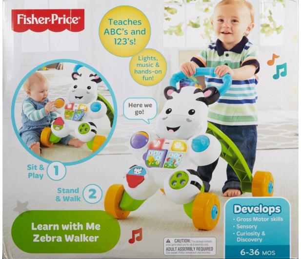 Fisher-Price Interaktywny chodzik Zebra - 311510 - zdjęcie 6