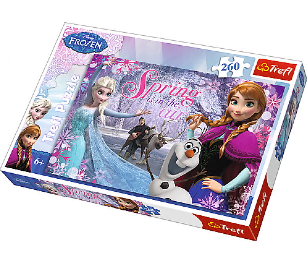 Trefl Miłość w Krainie Lodu Frozen  - 307630 - zdjęcie