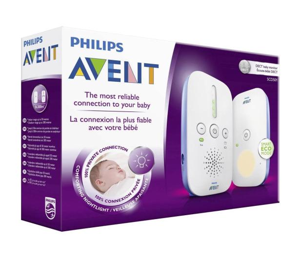 Philips Avent Elektroniczna Niania DECT Z Lampką - 320403 - zdjęcie 3