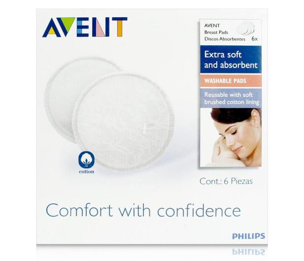 Philips Avent Wkładki Laktacyjne Wielorazowe Do Prania 6szt - 321071 - zdjęcie 2
