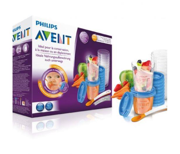 Philips Avent Zestaw Pojemniki Na Pokarm +Pokrywki 20szt - 321088 - zdjęcie 5