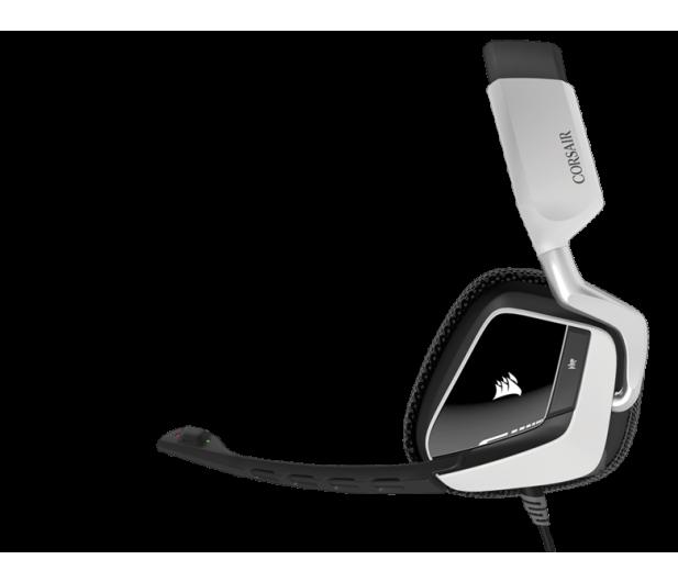 Corsair VOID RGB USB Dolby 7.1 Gaming Headset (białe)  - 321356 - zdjęcie 2