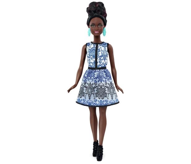 Mattel Barbie Fashionistas Błękitny Brokat - 322069 - zdjęcie