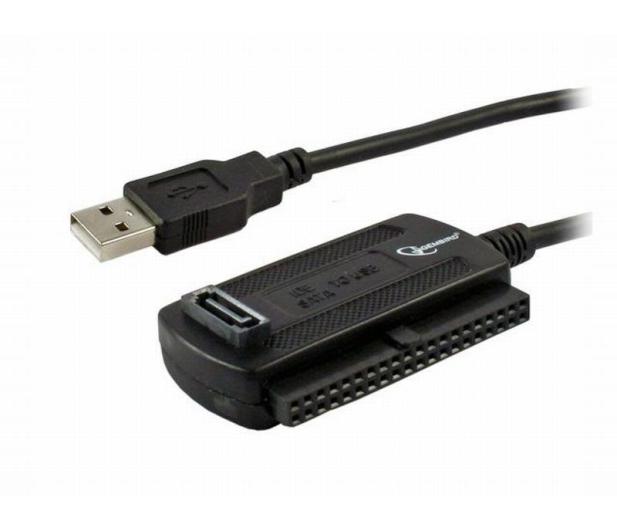 Gembird Konwerter USB - SATA, IDE (zasilanie) - 66077 - zdjęcie