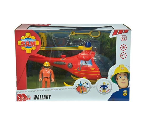 Simba Strażak Sam Helikopter ratunkowy z figurką - 325621 - zdjęcie 2