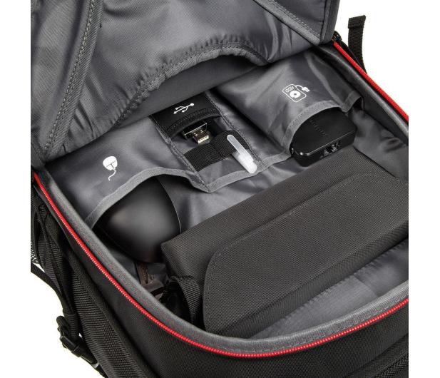 Targus Strike Gaming backpack + Muvo 1c czarny - 497693 - zdjęcie 4