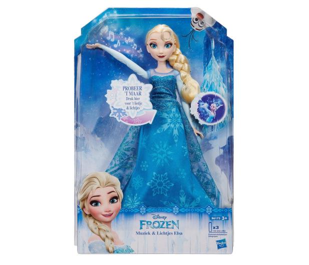 Hasbro Disney Frozen Rozświetlona Śpiewająca Elsa - 327931 - zdjęcie 3