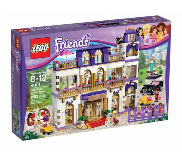 Lego Friends Grand Hotel W Heartlake Klocki Lego Sklep