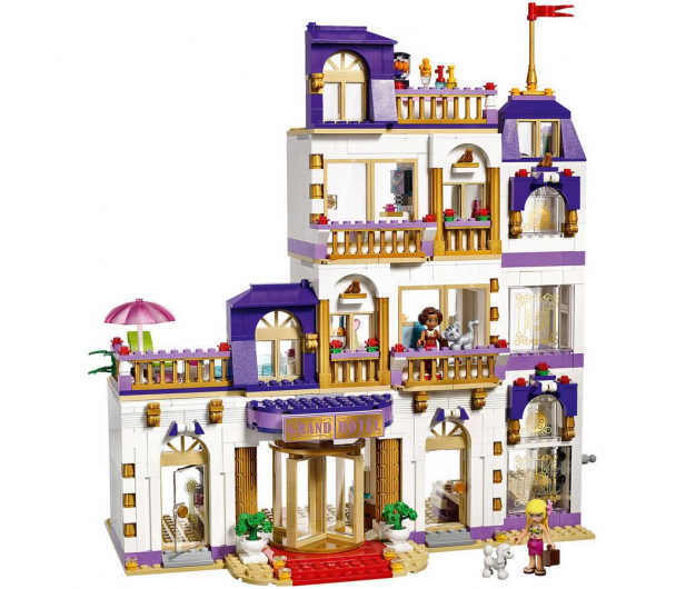 LEGO Friends Grand Hotel w Heartlake - Klocki LEGO ...