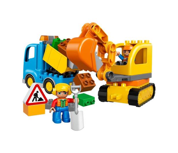 LEGO DUPLO Ciężarówka i koparka gąsienicowa - 318235 - zdjęcie 2