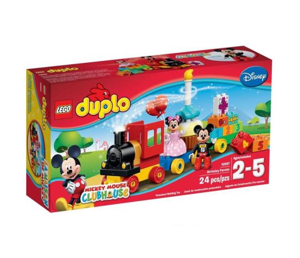 LEGO DUPLO Parada urodzinowa Myszki Miki i Minnie - 289196 - zdjęcie