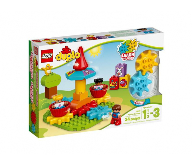 LEGO DUPLO Moja pierwsza karuzela - 343364 - zdjęcie