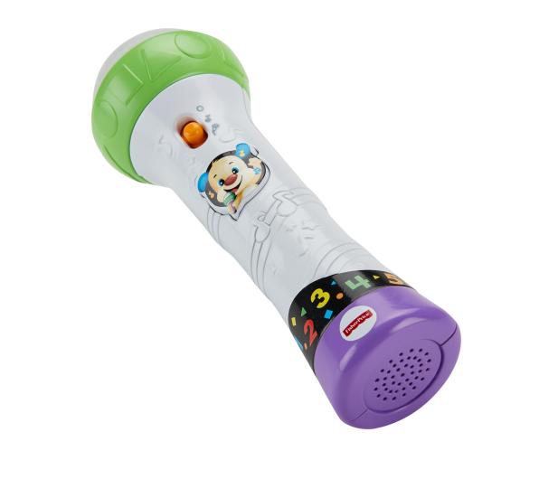 Fisher-Price Mikrofon Malucha Śpiewaj i nagrywaj! - 344665 - zdjęcie 2