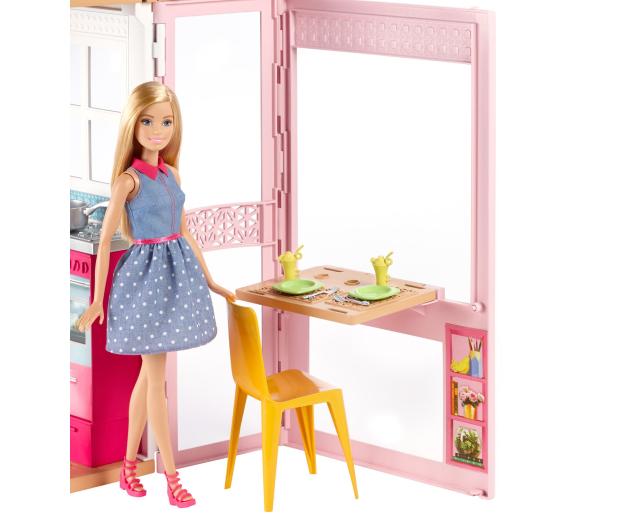 Barbie Duży Domek dla lalek z akcesoriami i lalką - 344589 - zdjęcie 4