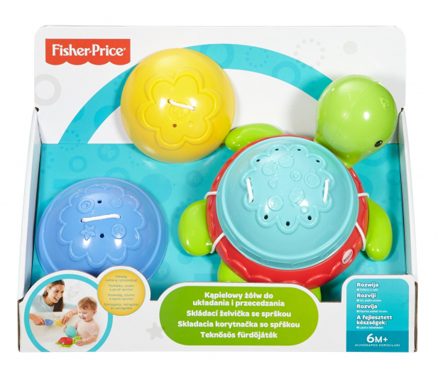 Fisher-Price Kąpielowy żółwik - 344402 - zdjęcie 4