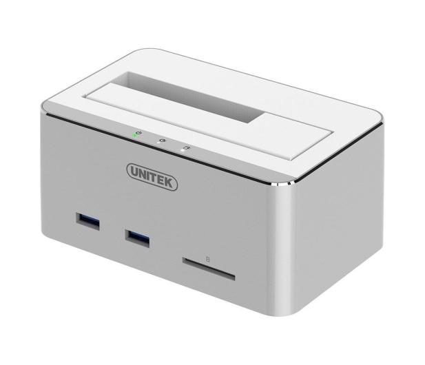 """Unitek Stacja dokująca 2.5""""/3.5"""" HDD/SSD USB SD - 347066 - zdjęcie"""
