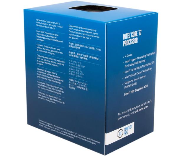 Intel i7-7700 3.60GHz 8MB BOX  - 340964 - zdjęcie 2