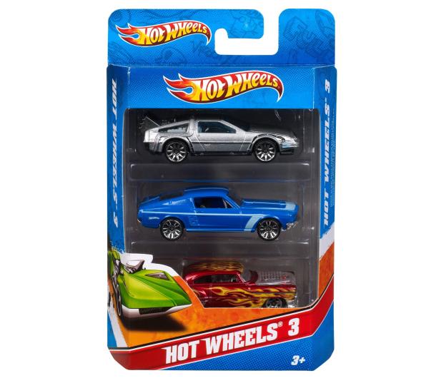 Hot Wheels Zestaw samochodzików 3 pack - 344363 - zdjęcie 6