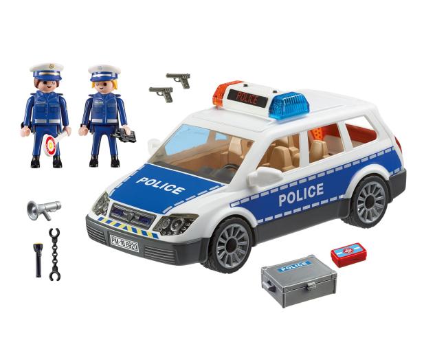 PLAYMOBIL Radiowóz policyjny - 299428 - zdjęcie 5