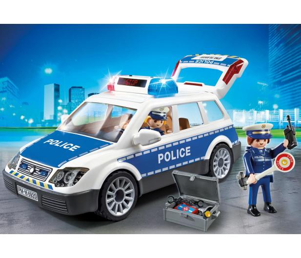 PLAYMOBIL Radiowóz policyjny - 299428 - zdjęcie 2