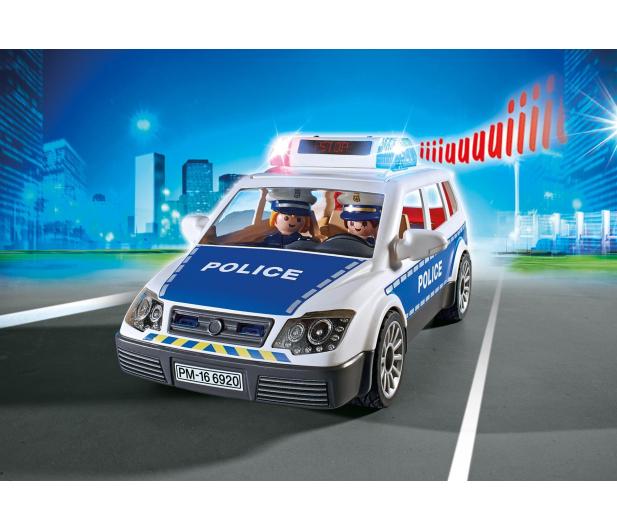 PLAYMOBIL Radiowóz policyjny - 299428 - zdjęcie 4