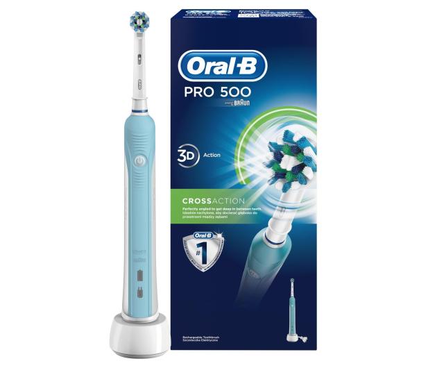 Braun Oral-B Pro 500 Crossaction - 520396 - zdjęcie 2