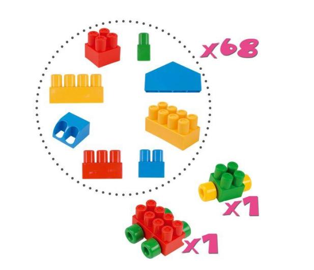 """Wader Klocki Middle Blocks - Zestaw """"Big"""" - 175589 - zdjęcie 3"""