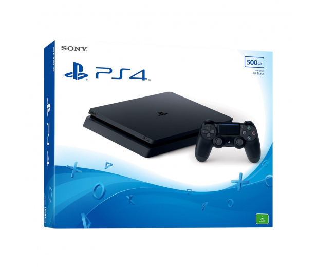 Sony PlayStation 4 Slim 500GB - 325345 - zdjęcie