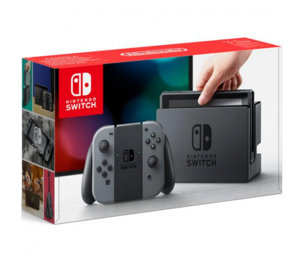 Nintendo Switch Grey Joy-Con - 345272 - zdjęcie 7