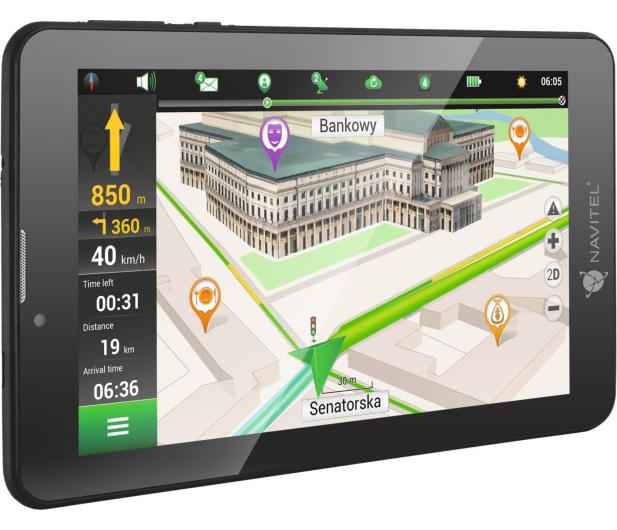 """Navitel T700 7"""" Europa Dożywotnia Android 3G PRO - 349470 - zdjęcie 5"""