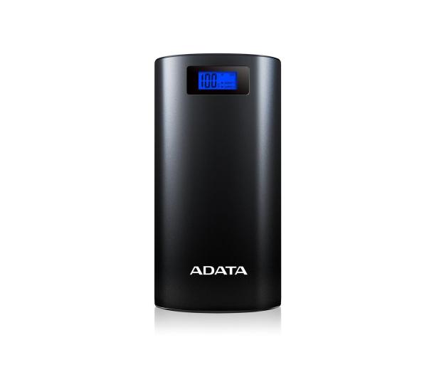 ADATA Power Bank P20000D 20000 mAh 2.1A (czarny) - 349077 - zdjęcie 2