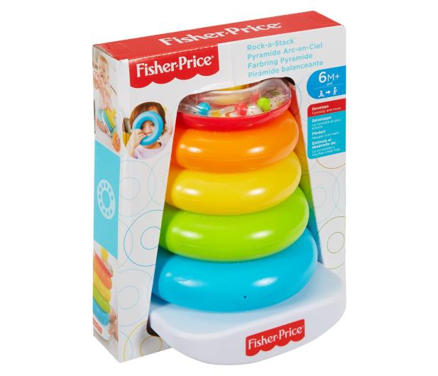 Fisher-Price Piramidka z kółek - 349254 - zdjęcie 6