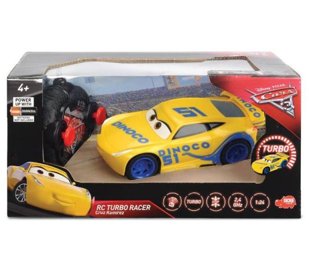 Dickie Toys Disney Cars 3 RC Cruz Ramirez - 350411 - zdjęcie 2