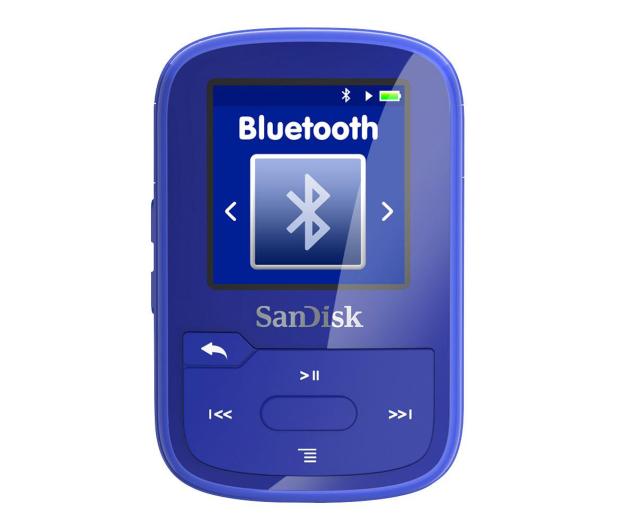 SanDisk Clip Sport Plus 16GB niebieski(bluetooth,tuner FM) - 357221 - zdjęcie