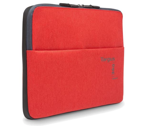 """Targus 360 Perimeter 13-14"""" Laptop Sleeve czerwony - 357867 - zdjęcie"""