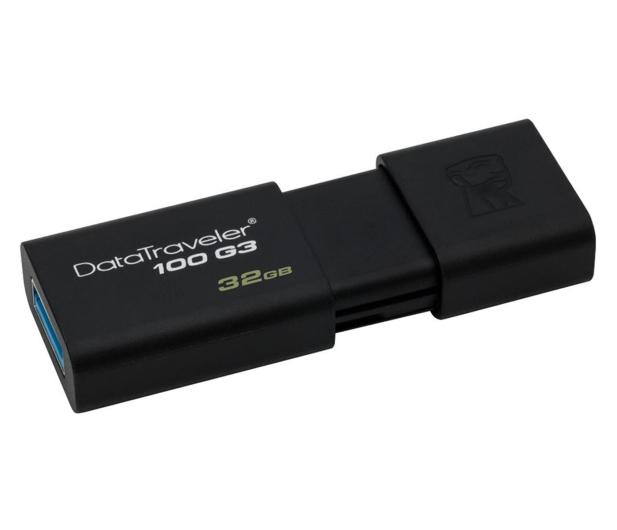 Kingston 32GB DataTraveler 100 G3 (USB 3.0) - 126210 - zdjęcie