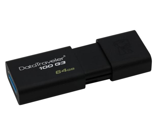 Kingston 64GB DataTraveler 100 G3 (USB 3.0) - 126211 - zdjęcie